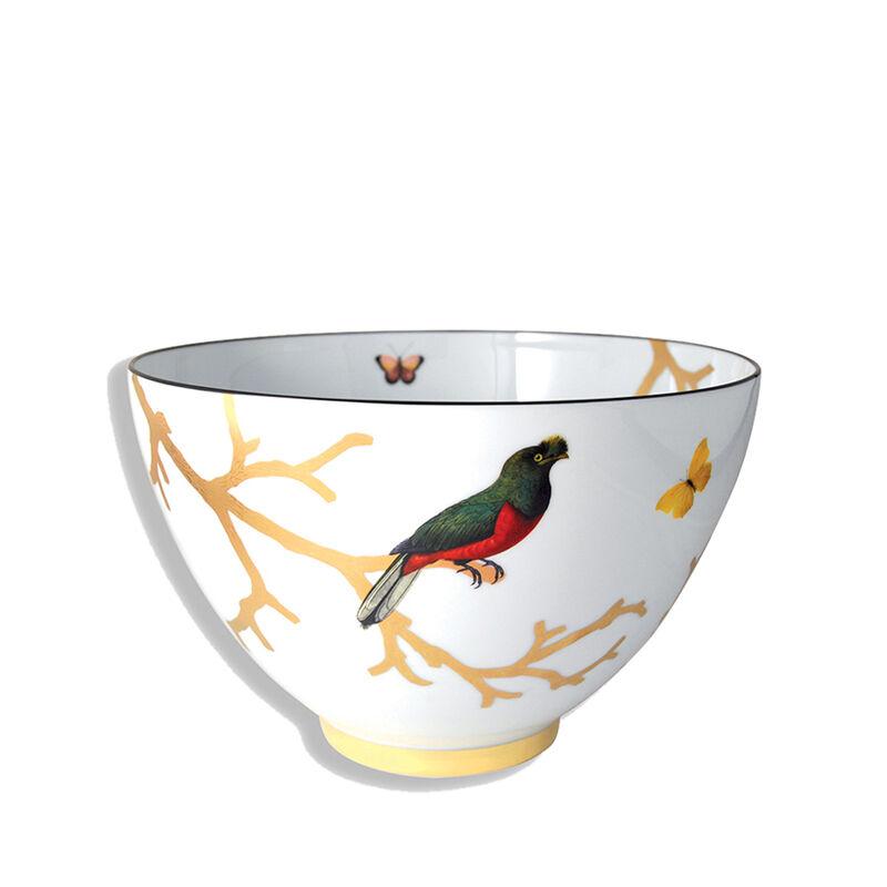 وعاء سلطة بتصميم الطيور, large
