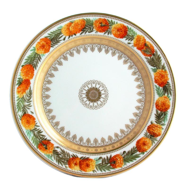 Botanique Salad Plate Marigold, large