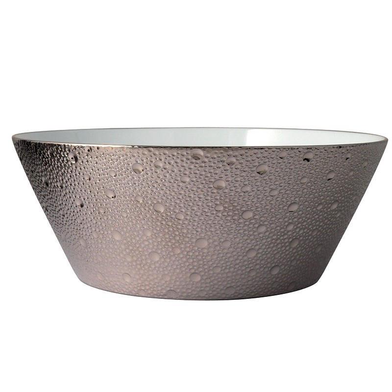 Ecue Platinum Salad Bowl, large