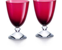 Vega Small Red Glass - Set Of 2, small