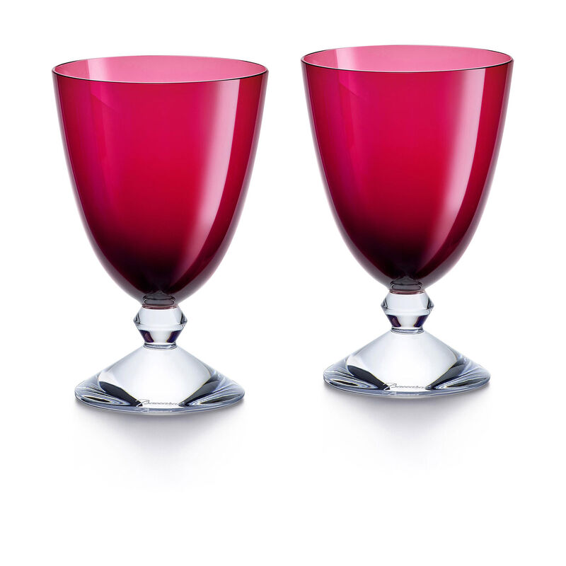 Vega Small Red Glass - Set Of 2, large