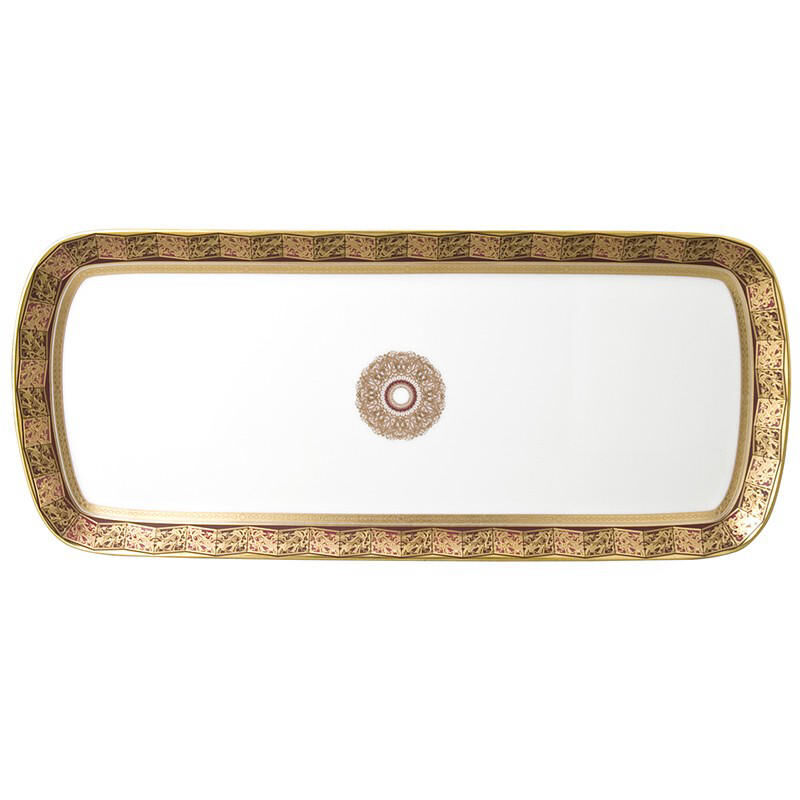 Eventail Cake Platter Rectangul, large