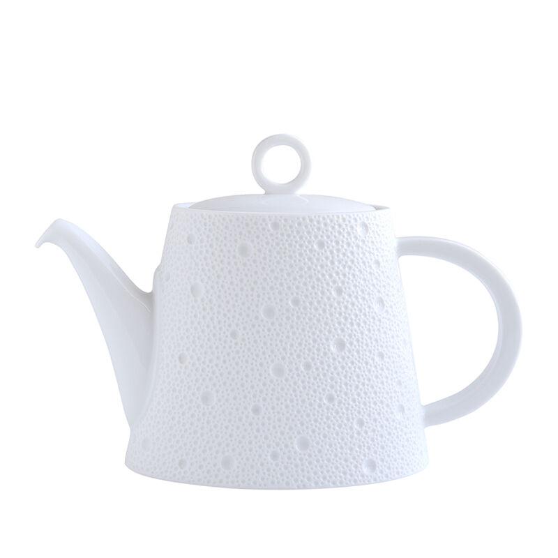 Ecume White Tea Pot, large
