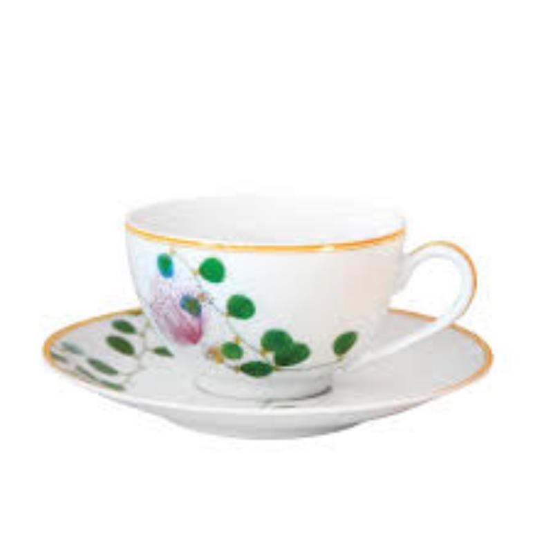 جاردين إنديان كوب شاي وصحن, large