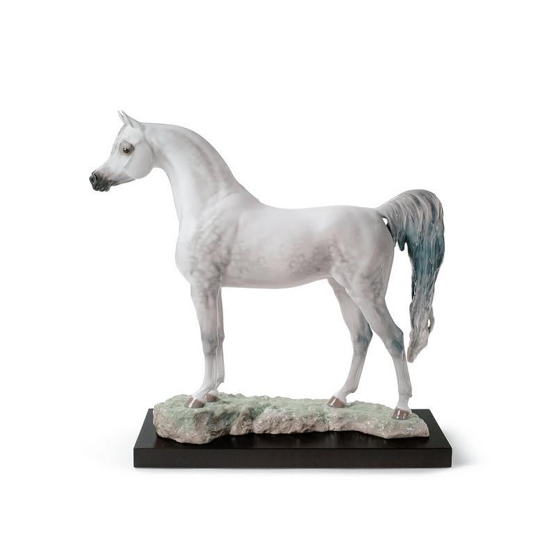 Arabian Pure Breed Figurine - Limited Edition, large