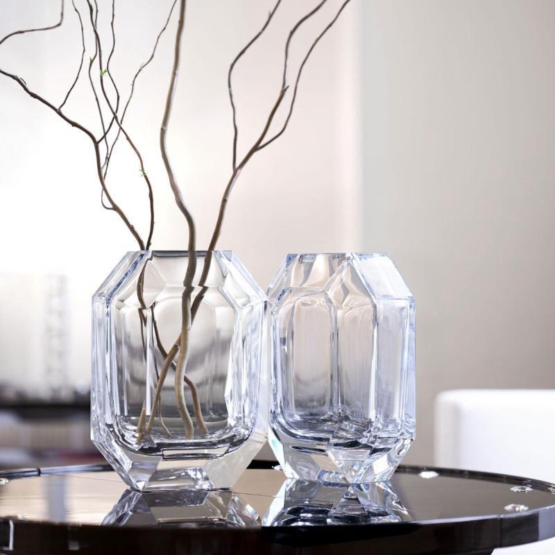 Octogone Vase, large