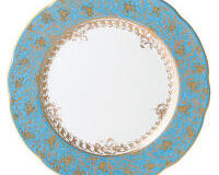 Eden Turquoise Dinner Plate, small
