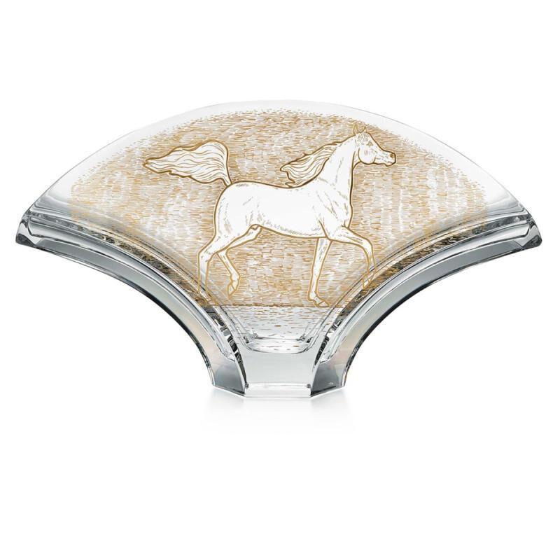 Gingko Vase Arabian Horse, large