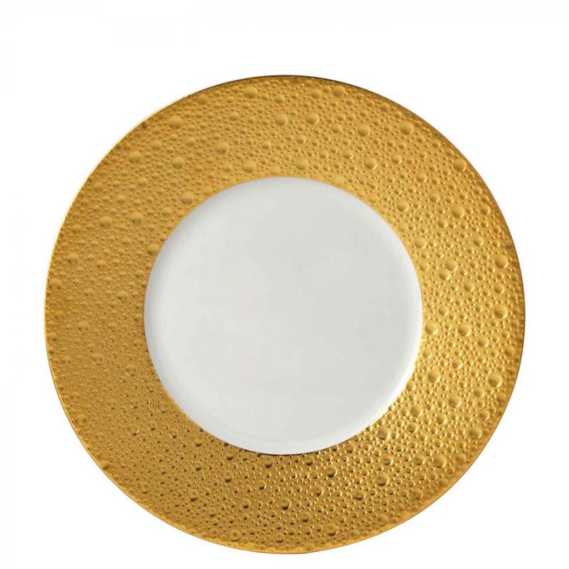 Ecume Gold Salad Plate, large