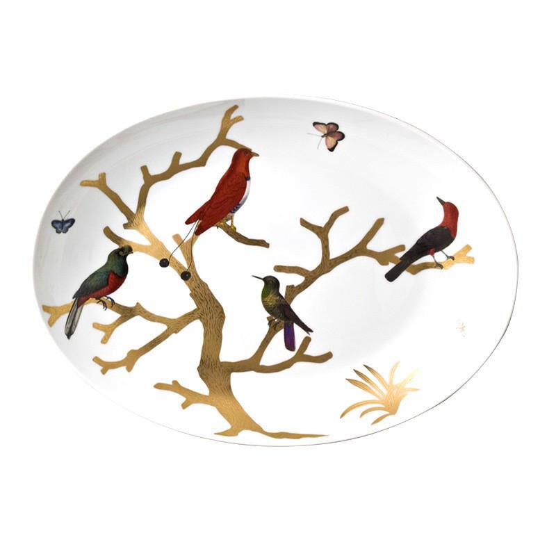 طبق بيضوي  طيور, large