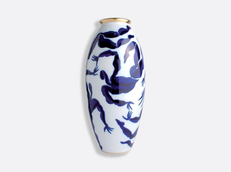 Bacchanale Large Vase Wht, large