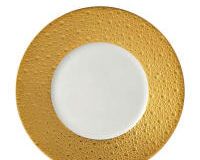 Ecume Gold Salad Plate, small