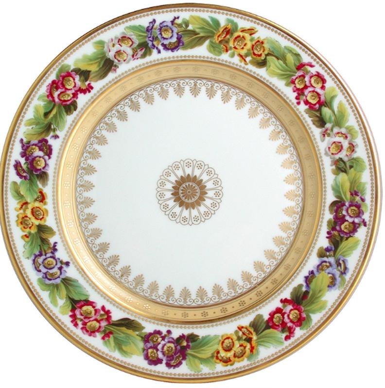 Botanique Dinner Plate Primrose, large