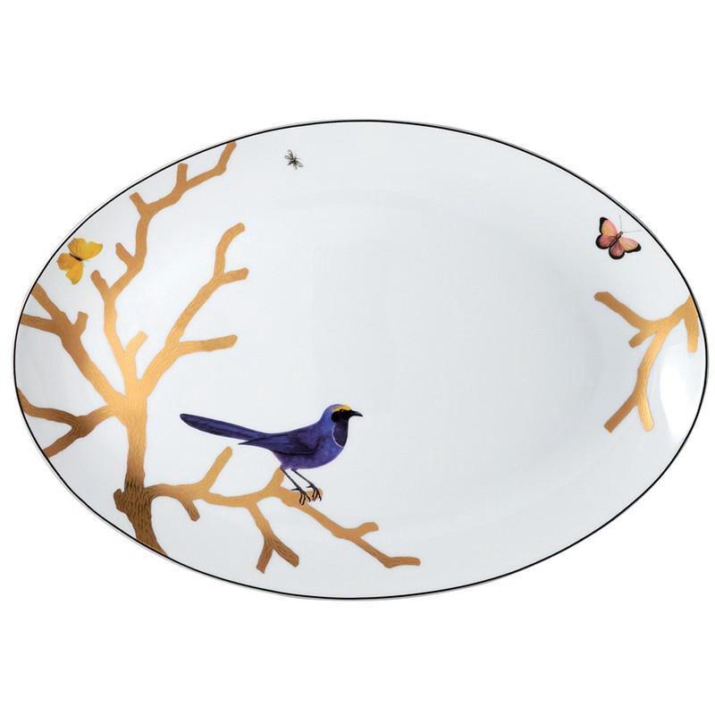 Aux Oiseaux Platter, large