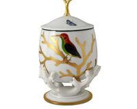 صندوق مع غطاء بتصميم الطيور, small