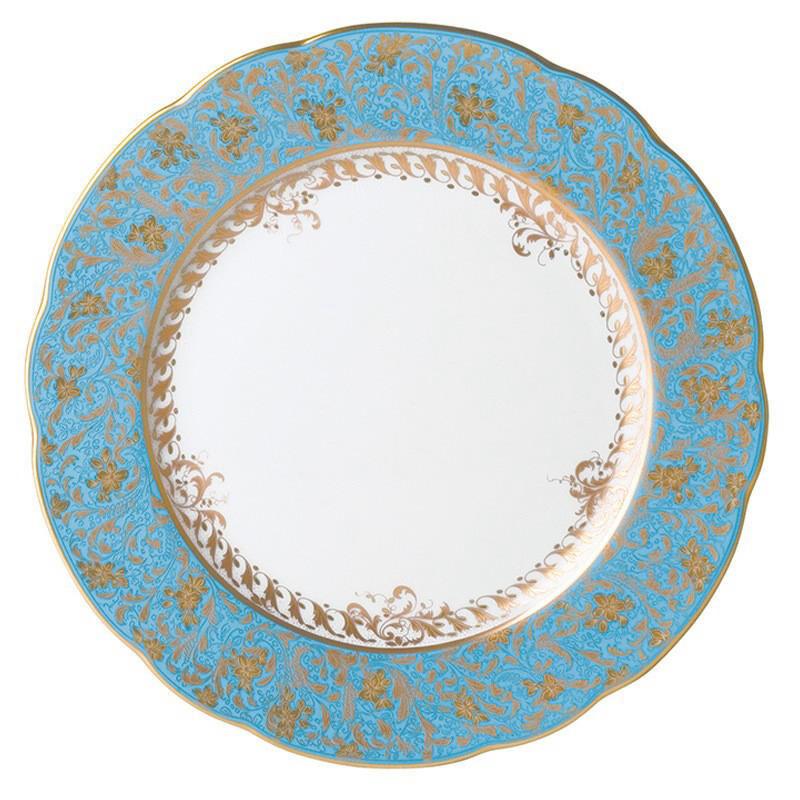 Eden Turquoise Dinner Plate, large